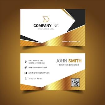 Design de cartão de visita técnico