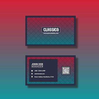 Design de cartão do inclinação
