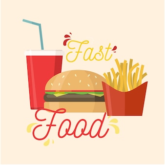Design de fast food