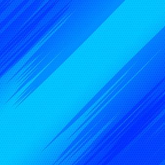 Design de fundo azul vazio com estilo de quadrinhos