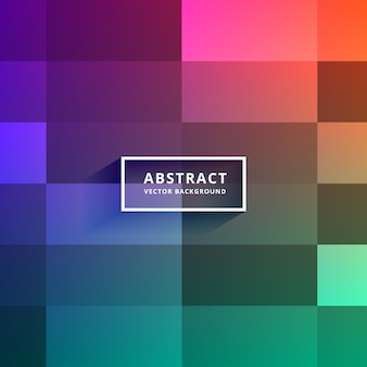 Design de fundo de vetor de azulejos coloridos
