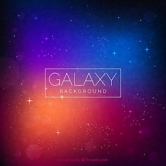 Design de fundo Galaxy