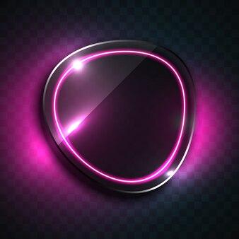 Design de fundo oval