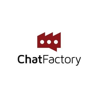 Design de logotipo da fábrica
