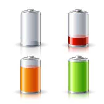 Design de nível da bateria