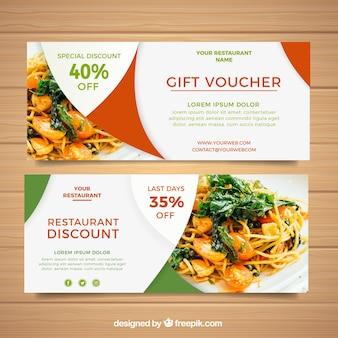 Design de vouchers de presente