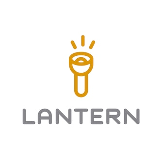 Design do logotipo da lanterna