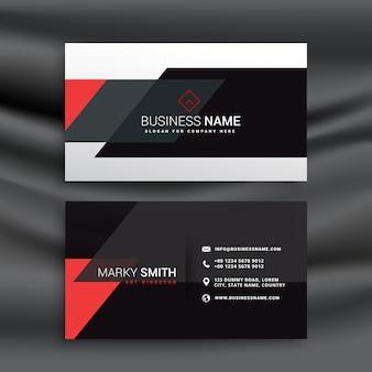 Design fantástico cartão vermelho e preto vector