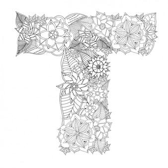 Design floral carta
