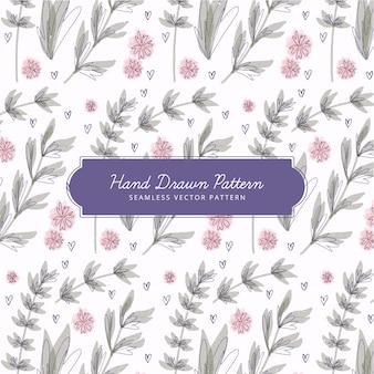 Design floral padrão