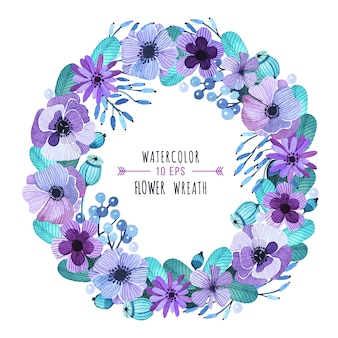 Design floral wreath