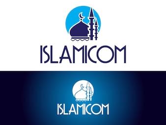 Design islâmico do logotipo do canal youtube