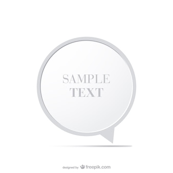 Design minimalista moldura redonda