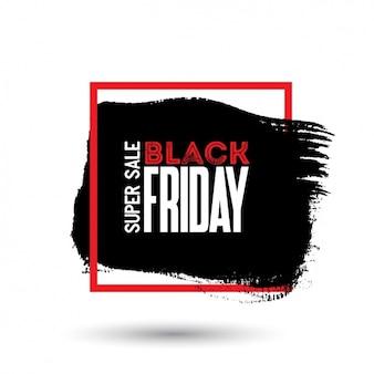 Design preto fundo sexta-feira
