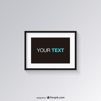 Design simples vector frame