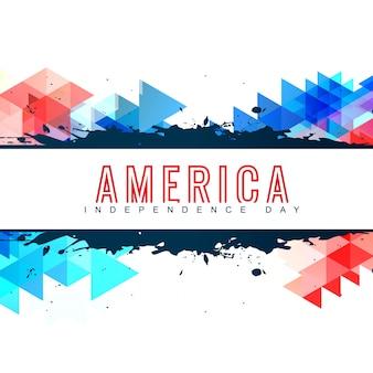 Dia americano da independência design do vetor design