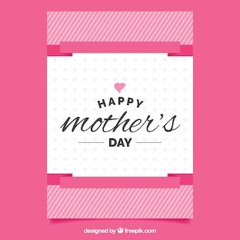 Dia das mães feliz cumprimento do vintage