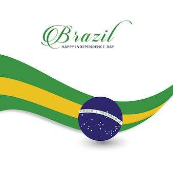 Dia de independência feliz do Brasil