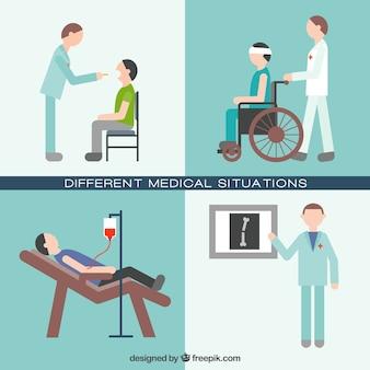 Diferentes situações médicas definir