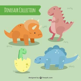 dinossauros coloridos Tocar