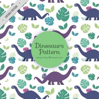 dinossauros padrão lindo
