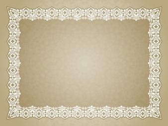 Diploma com moldura ornamental