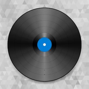 Disco, turntable, som, trilha sonora, único