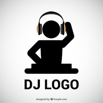 DJ logotipo