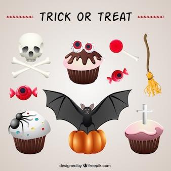do dia das bruxas bolos ornamentais