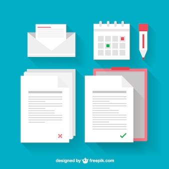 Documentos ilustrações
