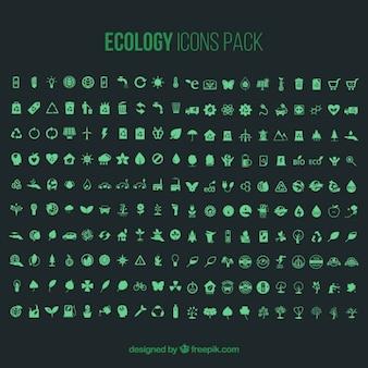 Ecologia pacote de ícones - 200 ícones
