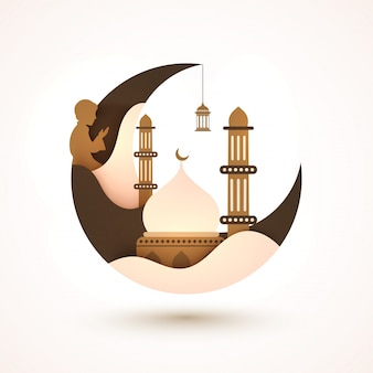 Eid-al-fitr tradição espiritual árabe eid-al-fitra