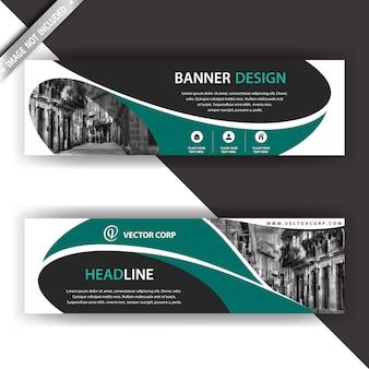 Elegante design de banner