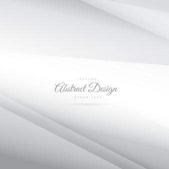 Elegante vector prata mínima fundo branco