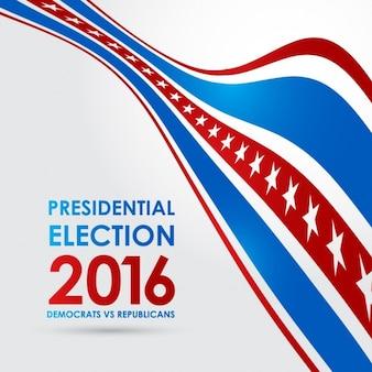 Eleição Presidencial 2016 democratas contra republicanos
