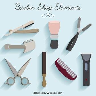 elementos barbearia