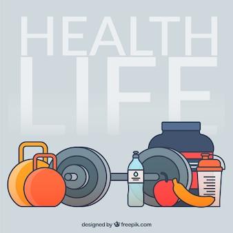 Elementos de vida saudáveis