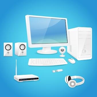 Elementos do computador de design