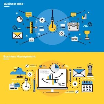 Elementos infographic sobre criatividade e-mail