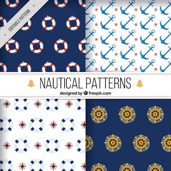 Elementos náuticos padrões de pacote