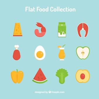 Embalagem de alimentos saudáveis