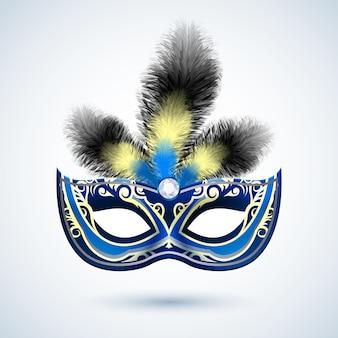Emblema da máscara de festa