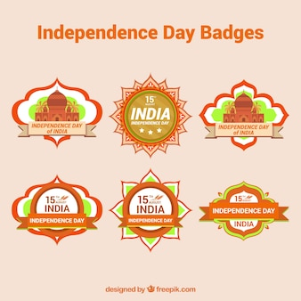 Emblemas da independência indiana