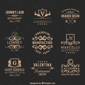 Emblemas do vintage