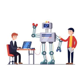 Engenharia de hardware e software robótica