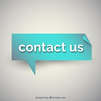 Entre em contato conosco projeto de fundo
