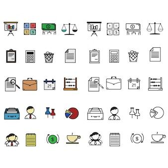 Escritório de ícones