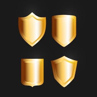 Escudos dourados