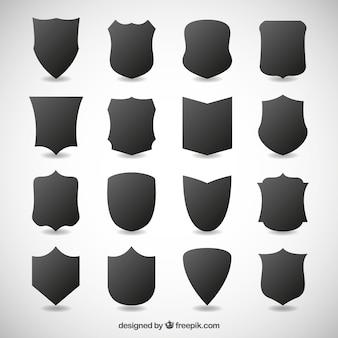 Escudos escuros