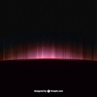 Espaço horizonte brilhante fundo